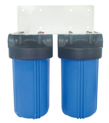 "Dual Big Blue Water Filter System w/Bracket (10""x4.5"")"
