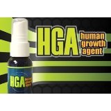 HGA Anti Aging Spray - 2 Bottles - Human Growth Agent - 1 oz - Feel Young Again Fragrance 1 Oz Spray Bottle