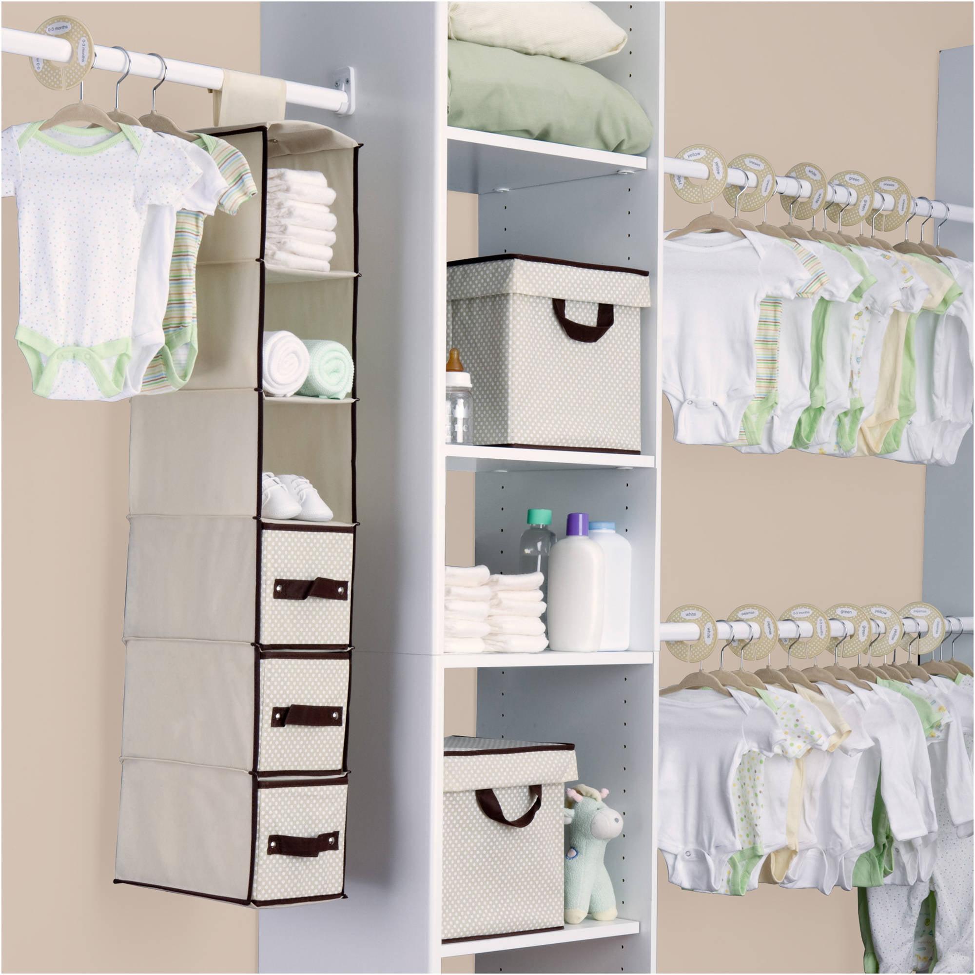 Delta - 48-Piece Nursery Storage Set, Choose Your Color
