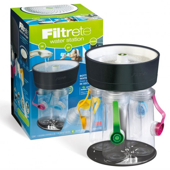 Filtrete 4-Bottle Water Station