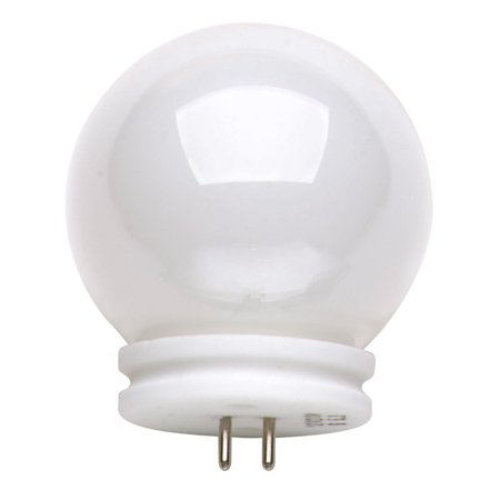 Satco S3189 Ball-Lite 50W 12V GX5.3 base Globe G14 halogen light bulb