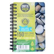 Frontier Natural Products 227841 3 x 5 inch Notebook 75 Ruled Sheets, Stone Paper