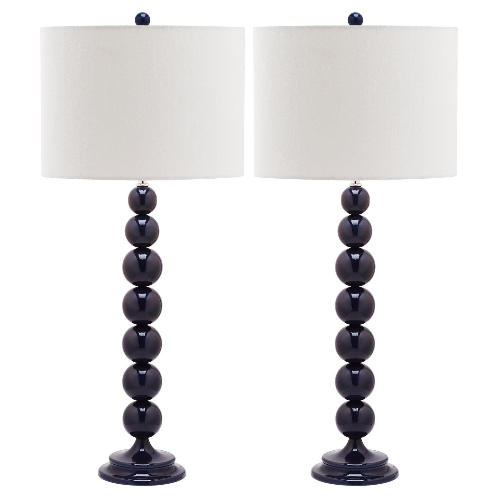 Safavieh Jenna LIT4090 Stacked Ball Table Lamp - Set of 2