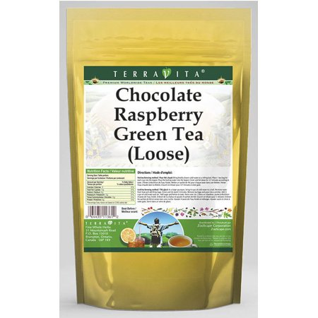 - Chocolate Raspberry Green Tea (Loose) (4 oz, ZIN: 539174)