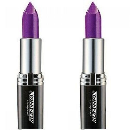 L'Oreal Paris Project Runway Lipstick the Mystic's Kiss 486 0.13 Oz (Pack 2) + Schick Slim Twin ST for Dry