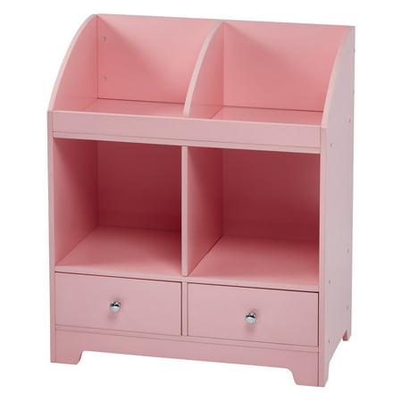 Teamson Kids - Little Princess Cindy Cubby Storage - Pink
