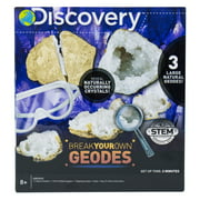 Discovery Break Your Own Geodes Set, Break and Display Geodes, 6+