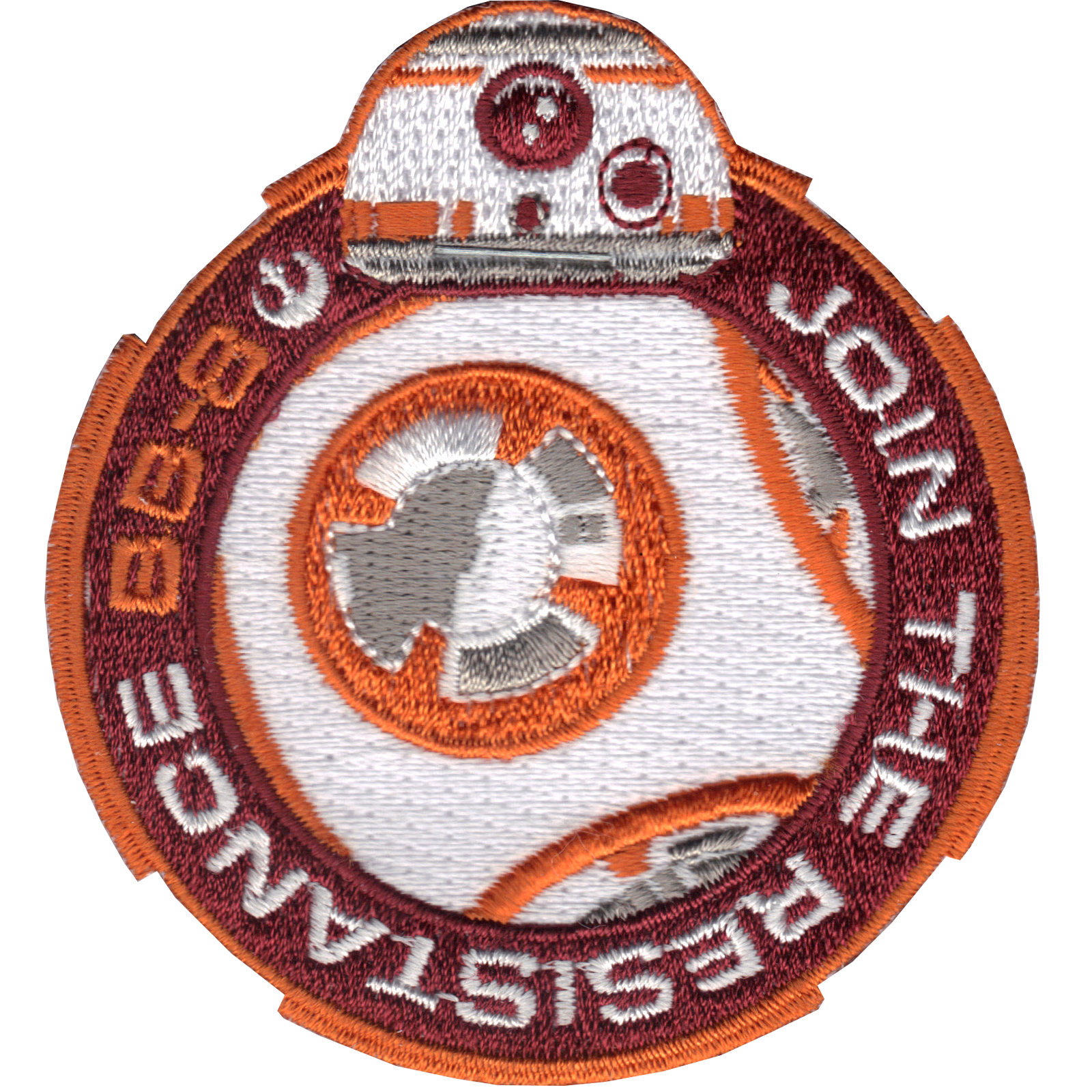 Star Wars Official BB-8 'Join The Resistance' Iron On Patch