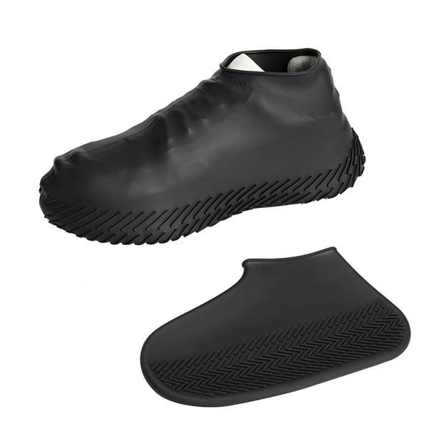Kids Adult Women Man Boy Girl Portable Rain Shoe Covers Waterproof Foldable Slip