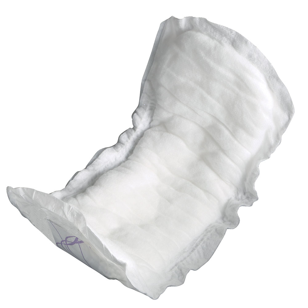 Extra Absorbency Disposable Adhesive Cotton Pads (6 Bags - 120 Total)