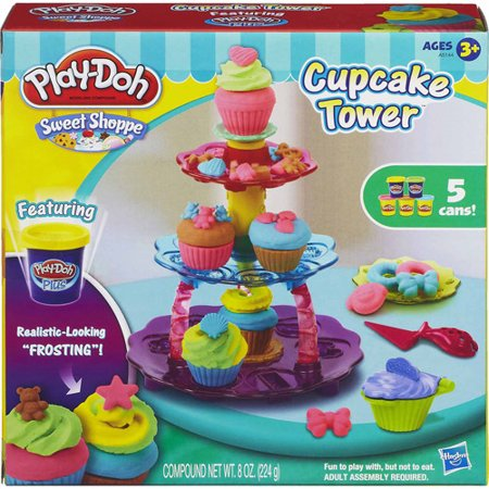 Play Doh Sweet Shoppe (Play-Doh Sweet Shoppe Cupcake Tower Food Set with 5 Cans of)