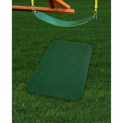 Gorilla Playsets Play Protector Rubber Mat, Green