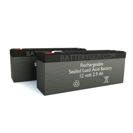 BatteryGuy Battery BG-1229F1 - 12V 2.9AH SLA Replacement for LINAK CB2 Control Box Battery replacement battery pack (rechargeable) BatteryGuy replacement rechargeable battery pack for LINAK CB2 Control Box Battery.  Fast nationwide delivery available.  It meets or exceeds the LINAK CB2 Control Box Battery medical specifications defined by the Original Equipment Manufacturer, but at a much lower price. Chemistry: Rechargeable Sealed Lead Acid / Dimensions: 7  L x 1.38  W x 2.36  H / Height with terminals: 2.6  H / Connector Type: F1