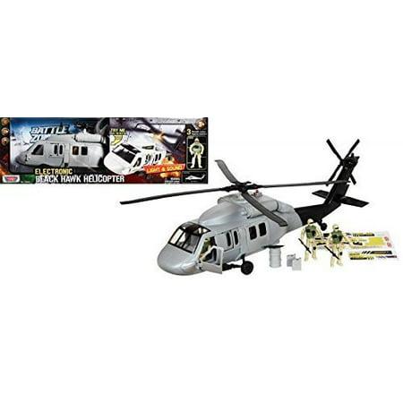 Battle Zone  Lights   Sound Black Hawk Helicopter