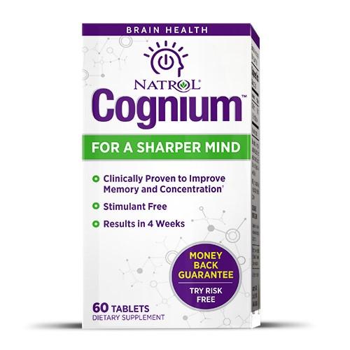 Natrol Cognium Tablets, 60 Ct