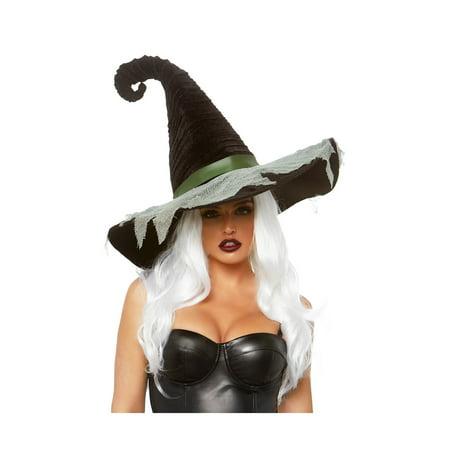 Hocus Pocus Velvet Witch Hat