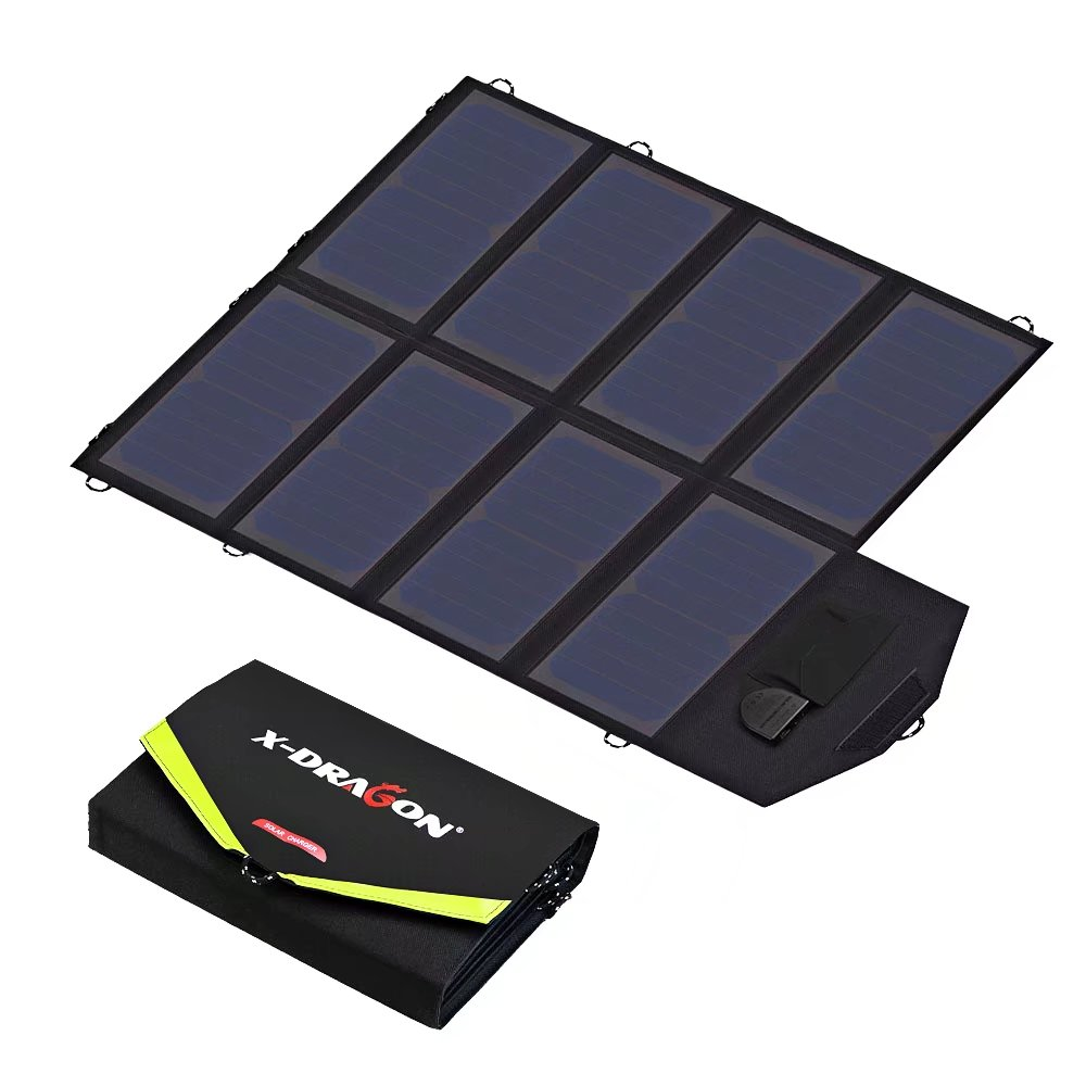 X-DRAGON Solar Charger 40W Sunpower Solar Panel Charger (...