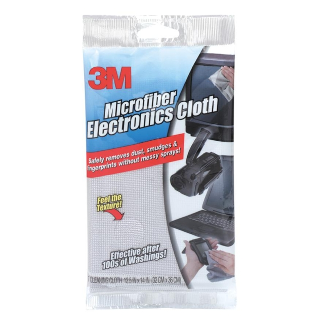3M Scotch-Brite Electronics Cleaning Cloth - Polyester/Nylon - 1 Each