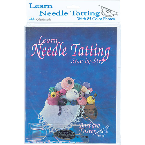 Handy Hands Learn Needle Tatting Step By Step Kit With #5-0 Needle and Threader