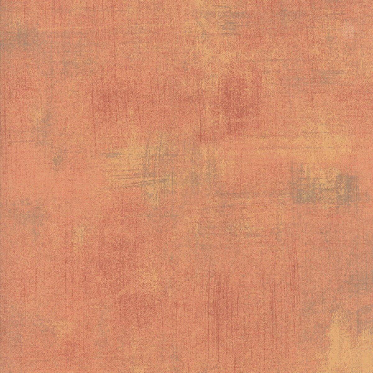Moda Fabrics Grunge Texture New Colors 2017~ Cantaloupe Cotton Fabric