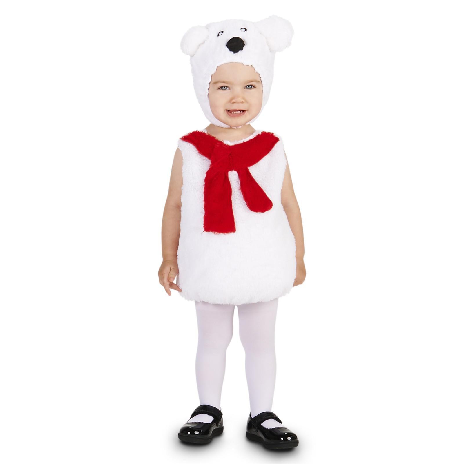 sc 1 st  Walmart & Cozy Polar Bear Costume - Walmart.com