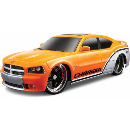 Maisto Tech RC 1:24 Scale 2006 Dodge Charger SRT8 Dodge Charger Srt8 Wheels