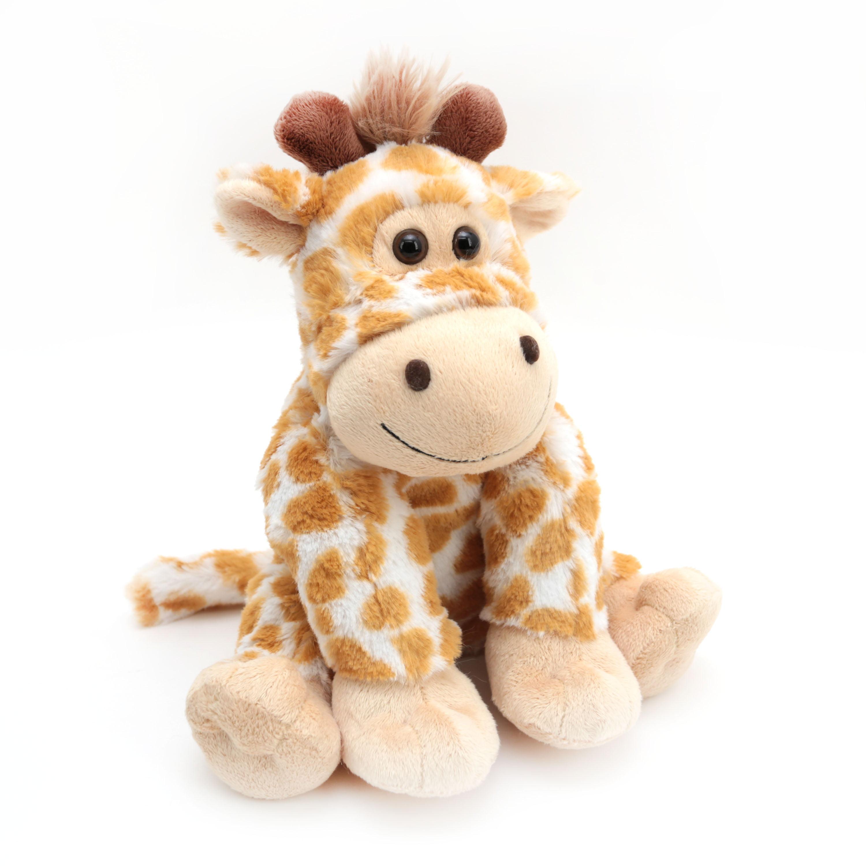 10 Inch Zoo Animal Plush Stuffed Toy Giraffe Walmart Com