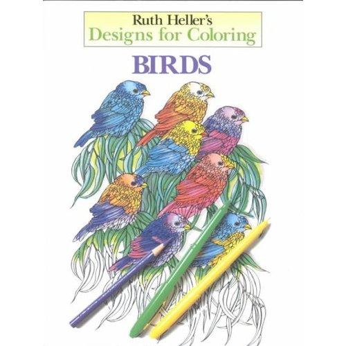 Ruth Heller's Designs for Coloring Birds