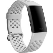 Charge 4,Sport Band,Frost White,Large