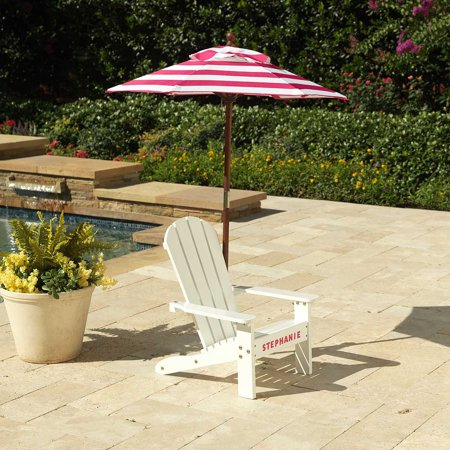 Fine Adirondack Chair With Umbrella Pink And White Andrewgaddart Wooden Chair Designs For Living Room Andrewgaddartcom