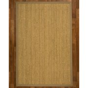 Natural Area Rugs Maritime Handcrafted Seagrass Tan Indoor Area Rug