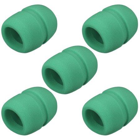 5pcs sponge foam mic cover handheld microphone windscreen shield protection green for ktv. Black Bedroom Furniture Sets. Home Design Ideas