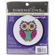 Learn-a-craft Flower Owl Counted Cross S