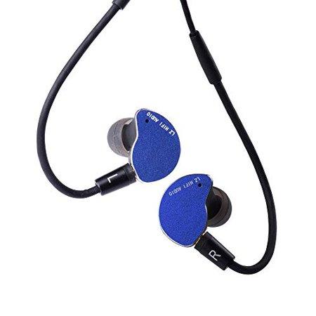 LZ Z05A in Ear Earphone,Carbon Nano-Coating Dynamic Drive in Ear Earphone, Metal Shell LZ Earphone HiFi DJ in Ear Monitor,Noi