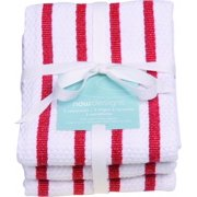 Now Designs 3 Pc Towel Set-red