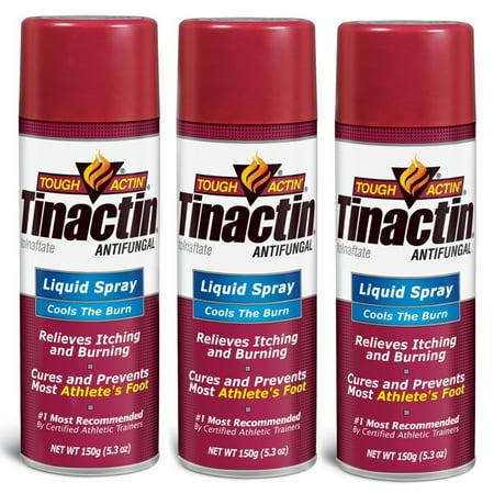 - Tinactin Athlete's Foot Liquid Spray Antifungal - 5.3 oz (Pack of 3)