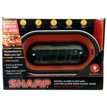 Sharp 1 4 Led Siren Alarm Walmart Com