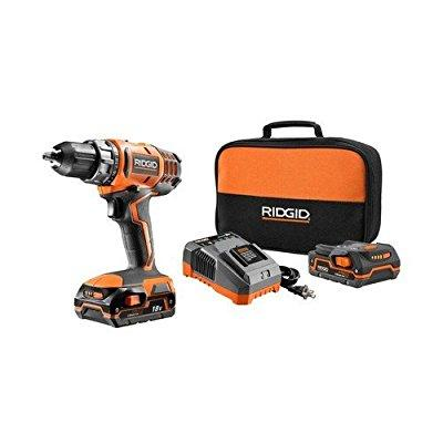 ridgid zrr860052k 18v cordless lithium-ion 1/2 in. compact drill driver (certified refurbished)