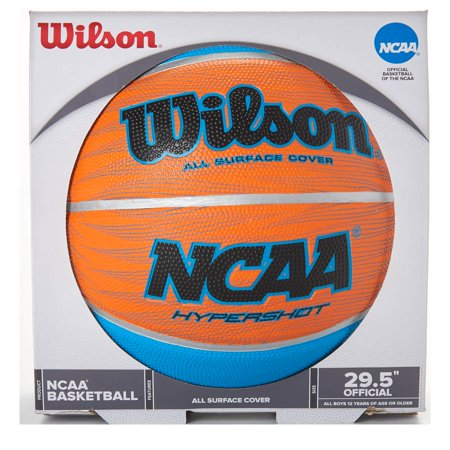 NCAA Hyper Shot Basketball - Blue/Orange