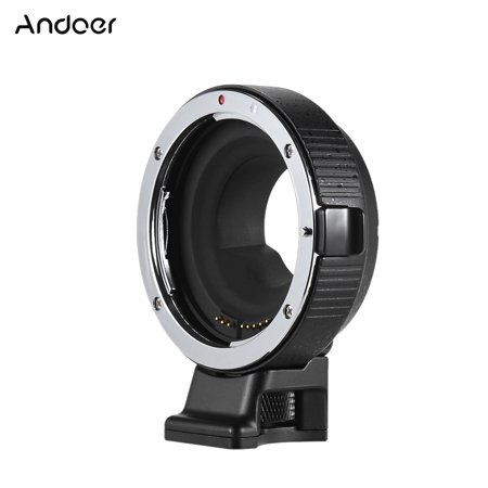 Andoer EF-MFT Electronic Lens Mount Adapter Ring Aperture Control Support IS for Canon EF/EF-S to M4/3 Camera for Olympus PEN E-P1 P2/3/5 E-PL1 OM-D E-M5 for Panasonic LUMIX