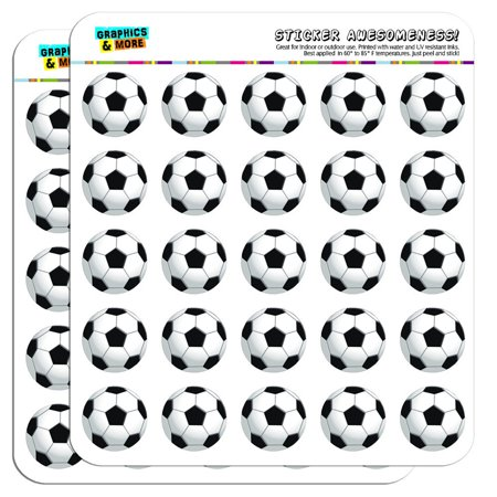 Football Designs Football Sticker (Soccer Ball Football 1