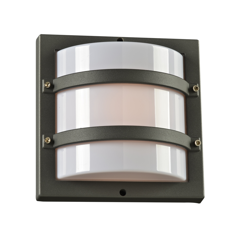 PLC 1 Light Outdoor Fixture Jedd Collection 4042BZ