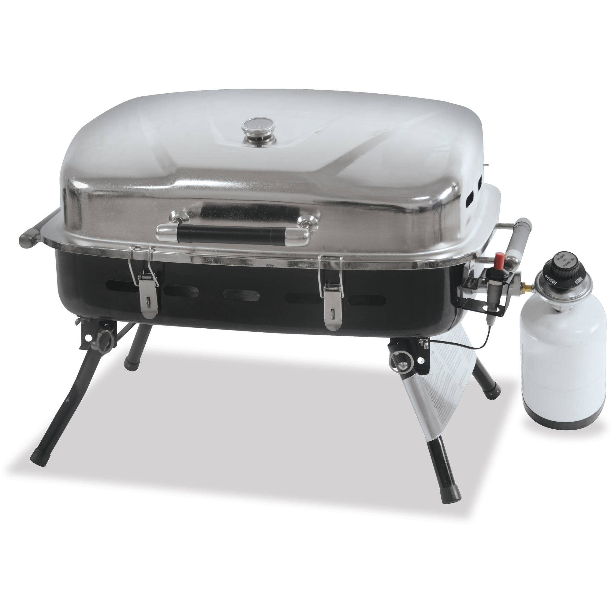 UniFlame NPG2302SS Gas Grill 3 Sq. ft. Cooking Area 1 Cooking Elements by Blue Rhino