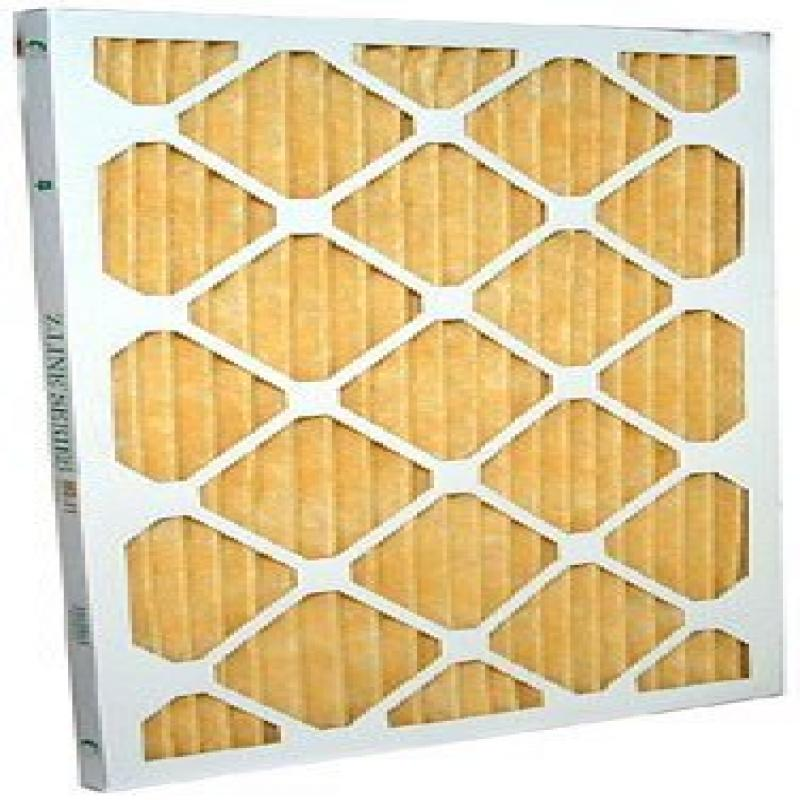 10x24x1 Merv 11 Furnace Filter (12 Pack) by Glasfloss Ind...
