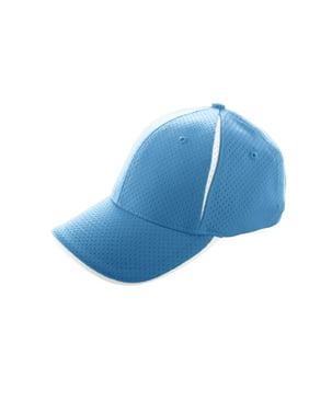 7b494d2cf5f Product Image 6234 Sport Flex Color Block Athletic Mesh Cap COLUMBIA  BLUE WHITE L XL