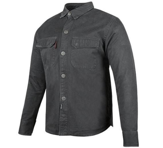 Speed & Strength Last Man Standing Armored Moto Long Sleeve Shirt Black