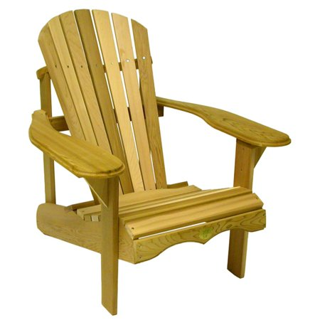 Adirondack Rustic Lodge - Rustic Natural Cedar Furniture Red Cedar Adirondack Chair
