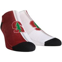 Stanford Cardinal Rock Em Socks Campus Stripe Ankle Socks - L/XL