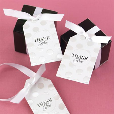 Hortense B. Hewitt 30804 Pearl Dotted Favor Cards - image 1 of 1