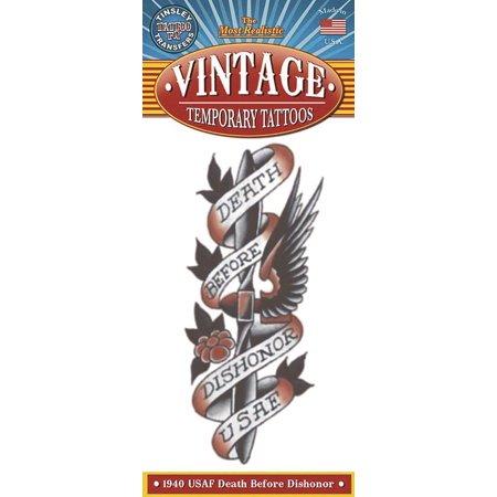 Tinsley Transfers USAF 1940 Vintage  Temporary Tattoo FX - Halloween 1940
